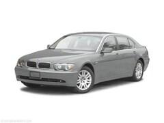 Bargain Used 2003 BMW 7 Series 745i Sedan for sale in Benton Harbor, MI