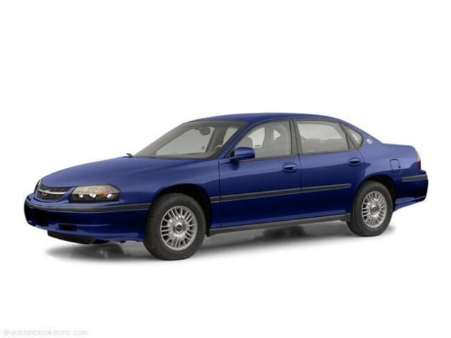 Used 2003 Chevrolet Impala Base Sedan in Manchester, NH