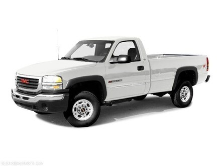 2003 GMC Sierra 2500HD WT Long Bed Truck