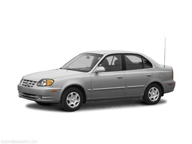 2003 Hyundai Accent GL w/Side Impact Air Bags Sedan