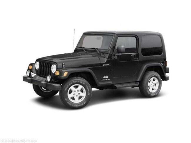2003 Jeep Wrangler X X