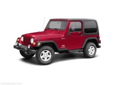 2003 Jeep Wrangler Rubicon SUV