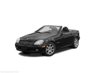 2003 Mercedes-Benz SLK-Class Kompressor Convertible