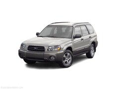 Used 2003 Subaru Forester 4dr 2.5 X Manual SUV 155981G for sale in Knoxville, TN