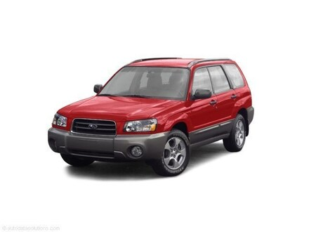 Featured 2003 Subaru Forester X 2.5 X Manual 3G707860 for sale in Thornton, CO