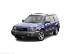 Used car 2003 Subaru Forester X SUV JF1SG63623H714473 for sale in Hermantown, MN