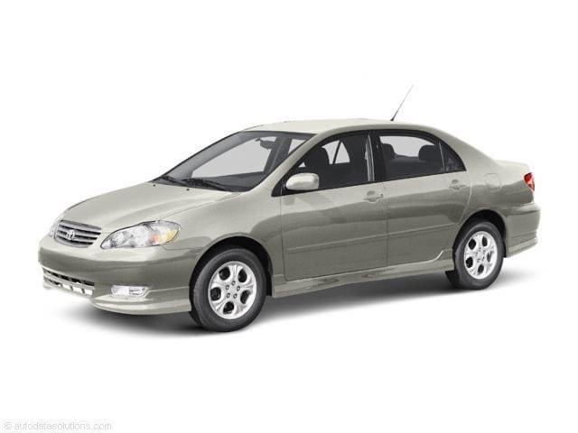 2003 Toyota Corolla CE Sedan