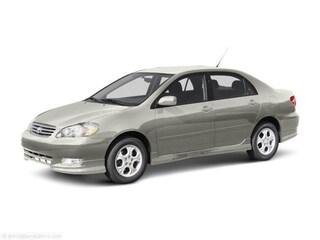 2003 Toyota Corolla Sedan