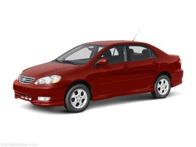 Used 2003 Toyota Corolla Sedan For Sale Baton Rouge, LA