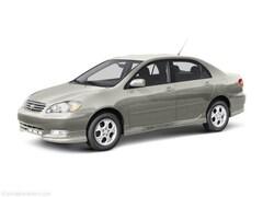 Bargain 2003 Toyota Corolla CE Sedan for sale near you in Southfield, MI