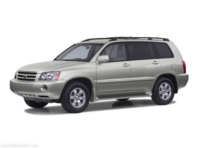 2003 Toyota Highlander V6 SUV