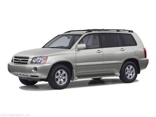 2003 Toyota Highlander Limited V6 SUV