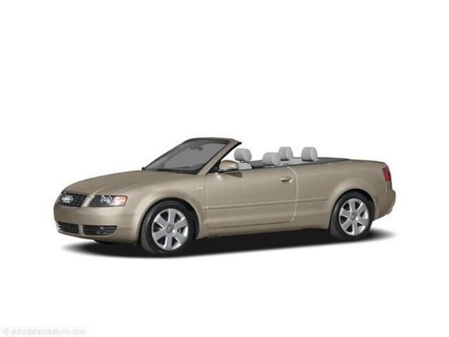 2004 Audi A4 3.0 Convertible