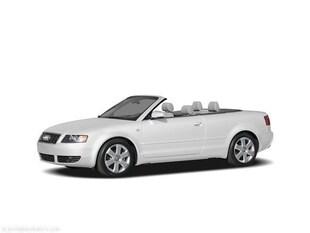2004 Audi A4 1.8T Convertible