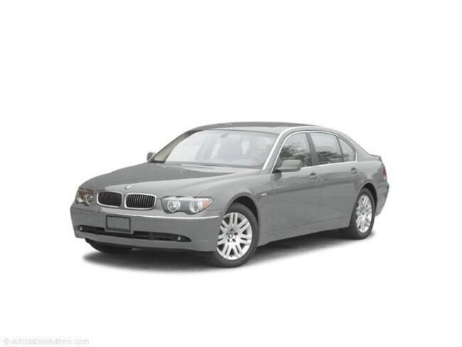 Used 2004 BMW 745Li Sedan for sale in Jackson, GA.