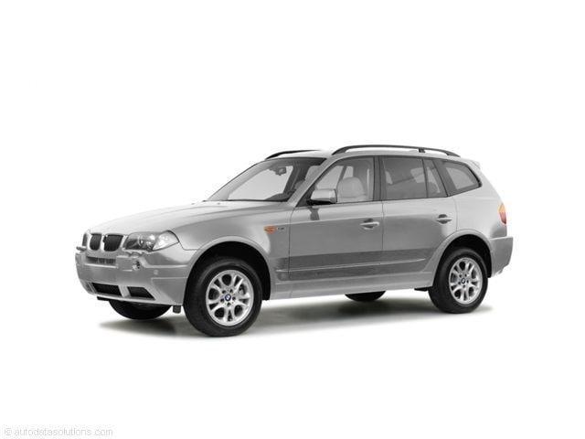 2004 BMW X3 X3  AWD 2.5i SUV