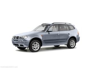 2004 BMW X3 SUV