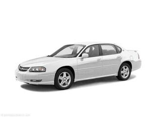 2004 Chevrolet Impala Base Car