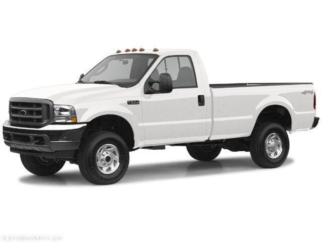 2004 Ford Super Duty F-350 SRW Reg Cab 137 XL 4WD Long Bed Truck