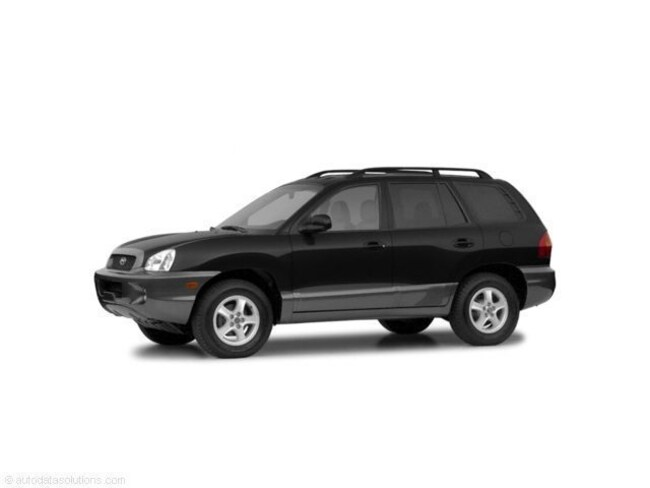 2004 Hyundai Santa Fe GLS GLS 4WD Auto 2.7L V6