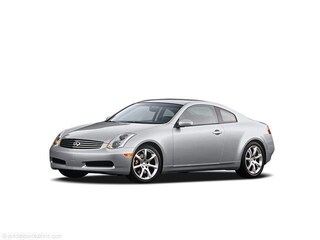 2004 INFINITI G35 Base w/Leather/6-Speed Manual Coupe