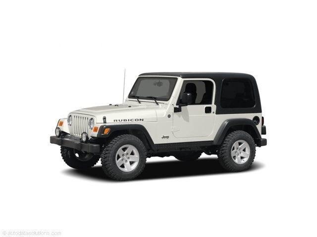 2004 Jeep Wrangler X SUV