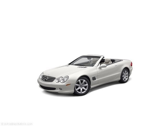 2004 Mercedes-Benz SL500 2DR Roadster Convertible