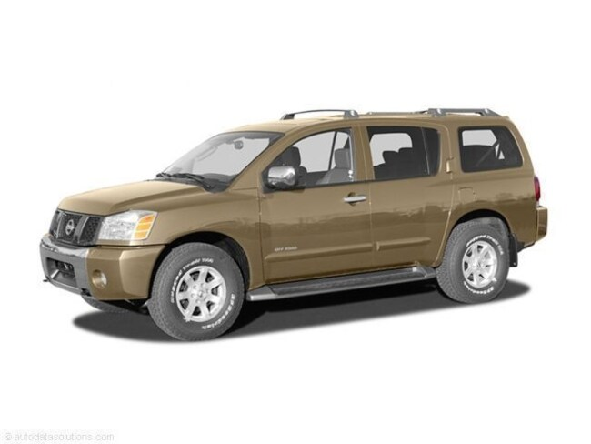 2004 Nissan Armada SE Off-Road SUV SOLD AS IS