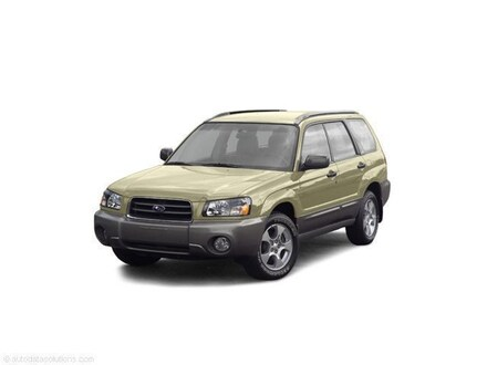 2004 Subaru Forester X JF1SG63664H759630