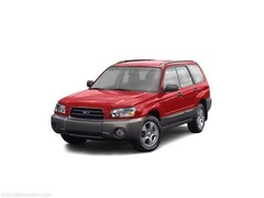 Used 2004 Subaru Forester 2.5X AWD SUV in North Smithfield near Providence