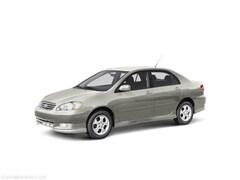 2004 Toyota Corolla S Sedan