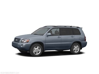 2004 Toyota Highlander V6 Leather Moonroof SUV