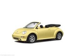 2004 Volkswagen New Beetle 2dr Convertible GLS Auto Convertible