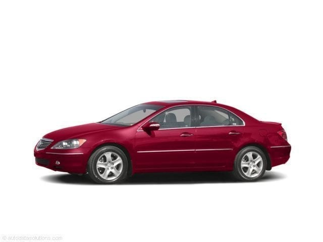 Used Acura RL Sedan Redondo Red Pearl For Sale In Honolulu HI - Used acura rl