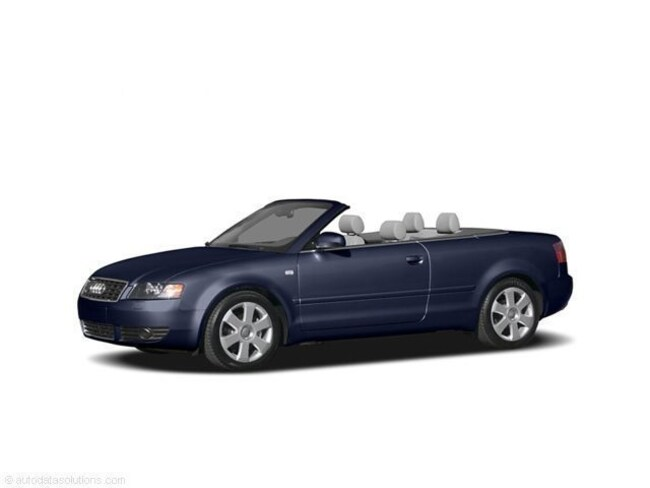 Used 2005 Audi A4 1.8T Cabriolet Convertible for sale in Brooksville, FL at Crystal Chrysler Dodge Jeep