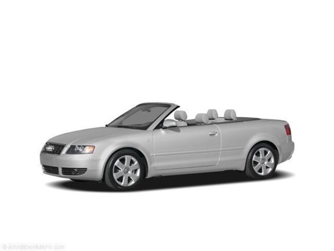 2005 Audi A4 3.0 Cabriolet Convertible
