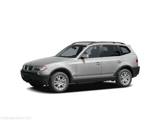 2005 BMW X3 2.5i SUV WBXPA73485WC46016 S8405A