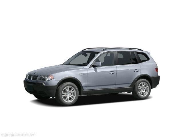 2005 BMW X3 3.0i AWD SUV SUV