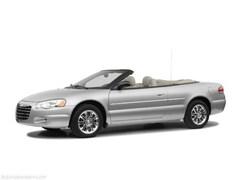 2005 Chrysler Sebring Base Convertible