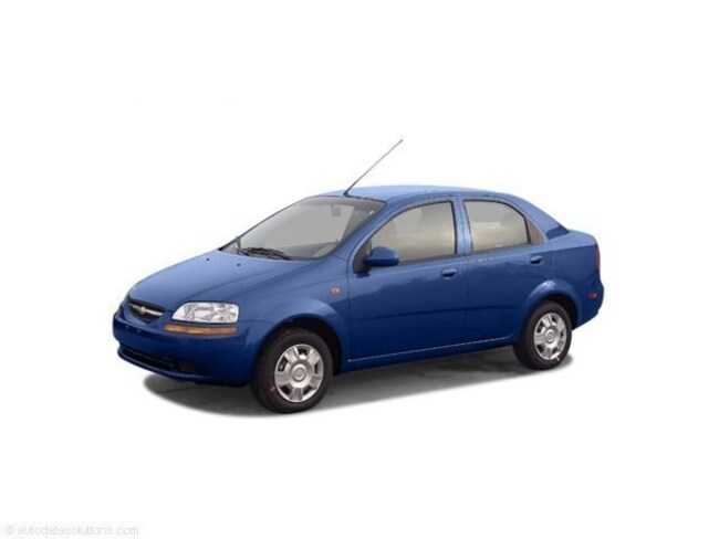 Used 2005 Chevrolet Aveo Sedan For Sale in Pueblo, CO