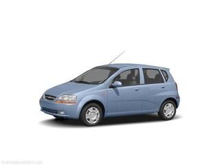 2005 Chevrolet Aveo Base Hatchback