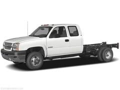 2005 Chevrolet Silverado 3500 EXT CAB 8 Dump WT Truck Extended Cab