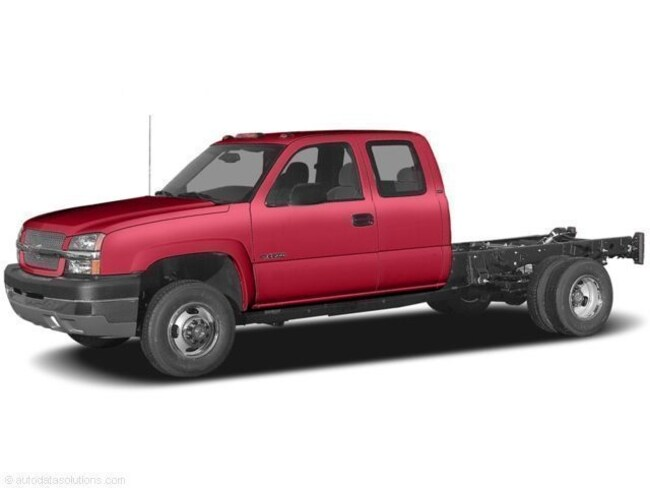 2005 Chevrolet Silverado 3500 Chassis WT Truck Extended Cab