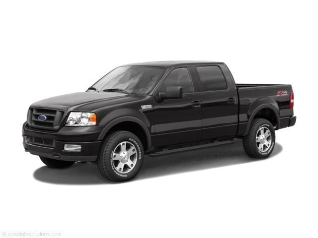 2005 Ford F-150 XLT Crew Cab Short Bed Truck