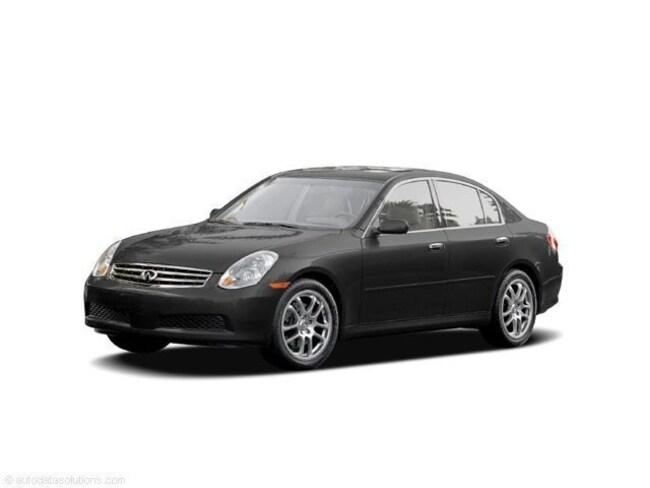 2005 INFINITI G35x Base Sedan