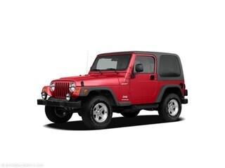 2005 Jeep Wrangler X Convertible