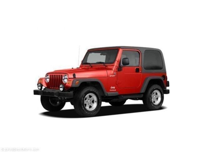 2005 Jeep Wrangler X X