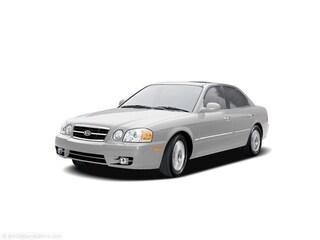 2005 Kia Optima EX V6 Sedan KNAGD128055377317