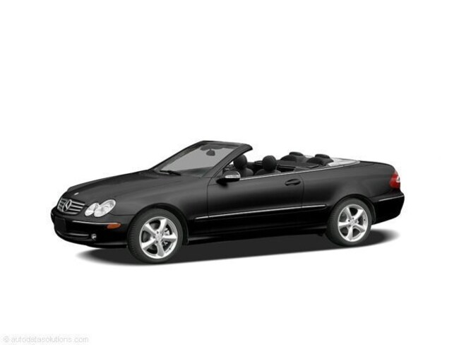 Used 2005 Mercedes-Benz CLK-Class 2dr Cabriolet 5.0L Convertible WDBTK75JX5F122076 in Cathedral City