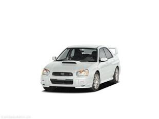 2005 Subaru Impreza WRX STi Base w/Gold-Painted Wheels Sedan